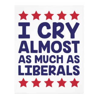 Crying Liberals Letterhead