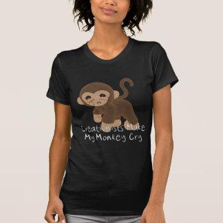 Crying Monkey T Shirts