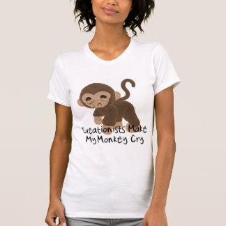 Crying Monkey T-shirts