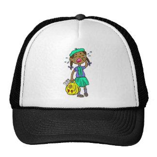 Crying School Girl Trucker Hat