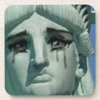 Crying Statue of Liberty Coaster