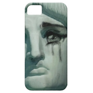 Crying Statue of Liberty iPhone 5 Cases