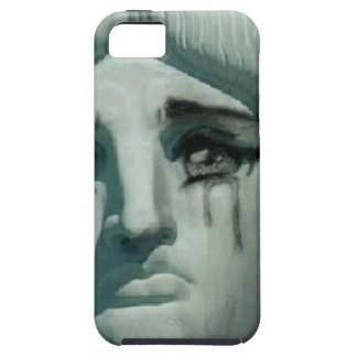 Crying Statue of Liberty iPhone 5 Cover