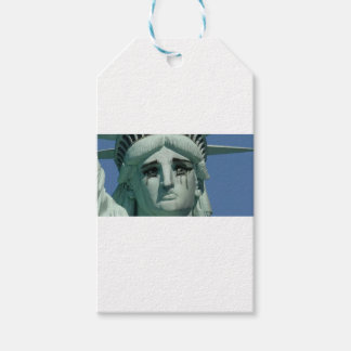 Crying Statue of Liberty Pack Of Gift Tags