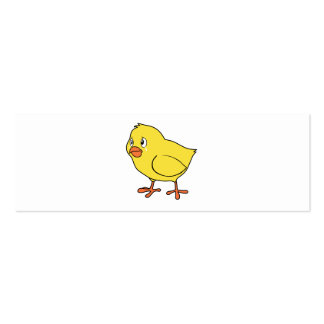 Crying Yellow Chick National Chicken Day Mug Pin Business Card Templates