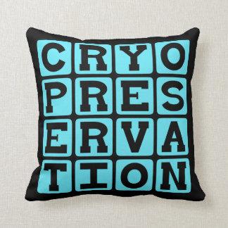 Cryopreservation Freezing Humans Pillow