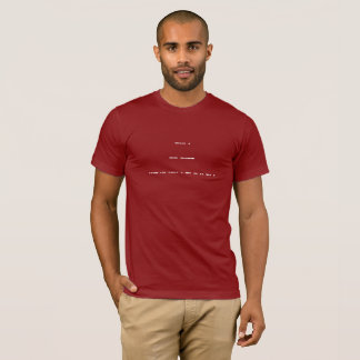 Cryptic Be My Valentine (Morse Code) T-Shirt