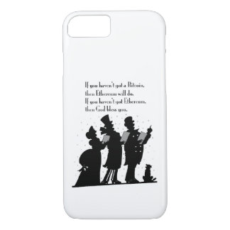 Crypto Christmas Carol iPhone 8/7 Case