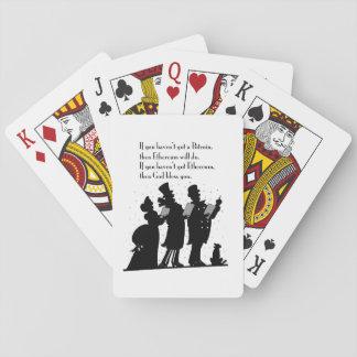 Crypto Christmas Carol Playing Cards