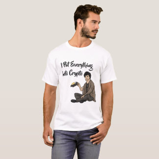 Crypto Currency Cautionary Tale T-Shirt