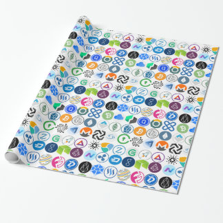 Cryptocurrency Wrapping Paper