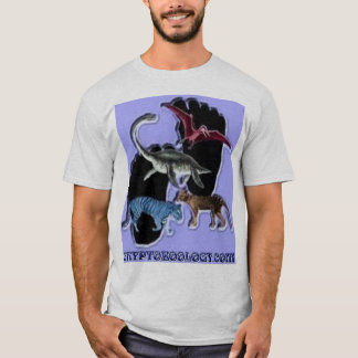 """Cryptozoology """"Check Your Belief-""""Skeptic"""" tee"""