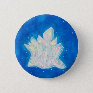 Crystal 2 Inch Round Button