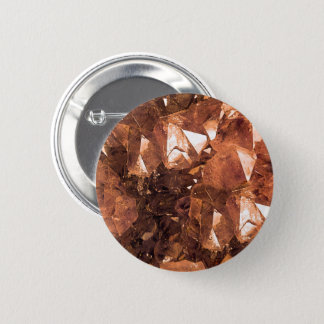 Crystal Amber 2 Inch Round Button