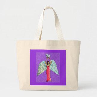 Crystal Angel Tote Bag