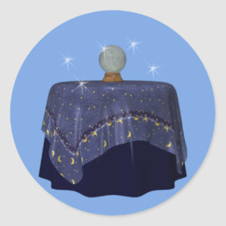 Crystal Ball Fortune Teller Psychic Sticker