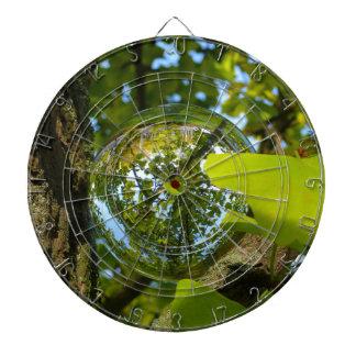 Crystal Ball in Gingko tree Dartboard