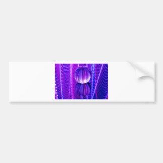 crystal ball reflect bumper sticker
