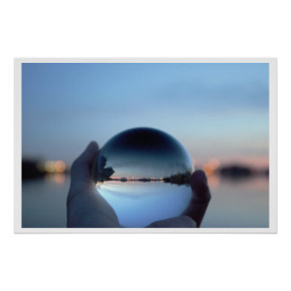 Crystal Ball View Poster