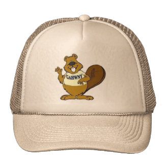 Crystal Beaver, our mascot Trucker Hat