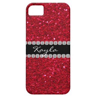 Crystal BLING RUBY RED IPHONE  5 Case