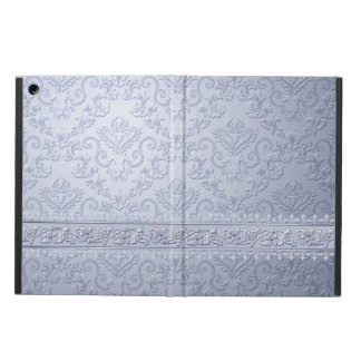 Crystal Blue Damask iPad Air Case