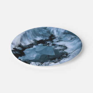 Crystal Blue Fantasy Paper Plate