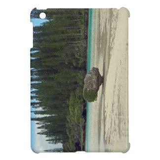 crystal blue lake iPad mini covers