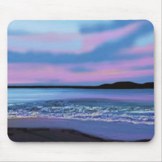 Crystal Blue Water Mouse Pad