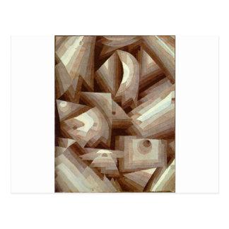 Crystal by Paul Klee Postcard
