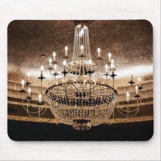 Crystal Chandelier Dazzle Glitz Glam Gla Mouse Pad