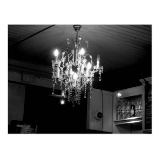 Crystal Chandelier Postcard