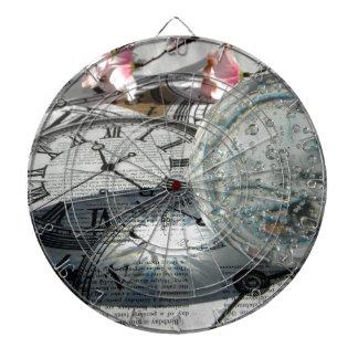 Crystal Clocks Dart Boards