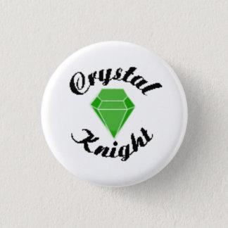 Crystal Club 1 Inch Round Button
