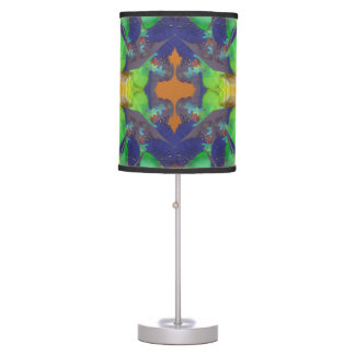 Crystal Colours Colorful Abstract Table Lamp