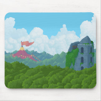 Crystal Control - Above the Trees Mousepad