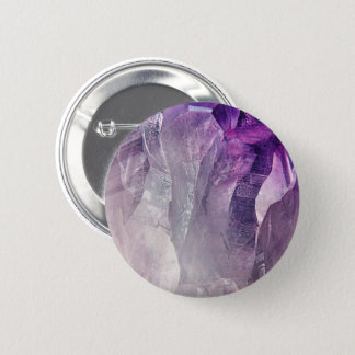 Crystal Core Abstract 2 Inch Round Button