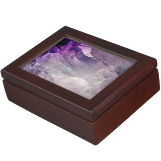 Crystal Core Abstract Keepsake Box