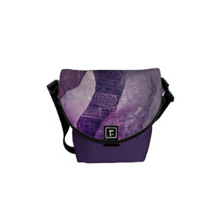 Crystal Core Abstract Messenger Bags
