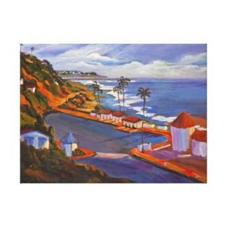 Crystal Cove Beach View Canvas Print