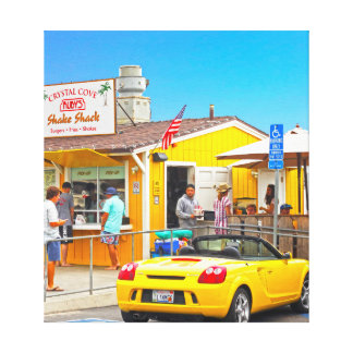 Crystal Cove Ruby's Canvas Print