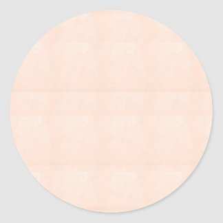 CRYSTAL CREME TINT customizable to other SHAPES Round Sticker