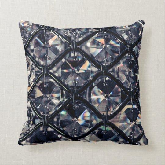 Crystal Design Throw Pillow