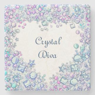 Crystal Diva Stone Coaster