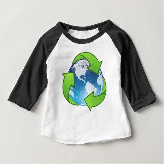Crystal Earth Cycle of Life Baby T-Shirt