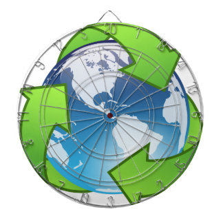 Crystal Earth Cycle of Life Dart Boards