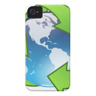 Crystal Earth Cycle of Life iPhone 4 Case-Mate Case
