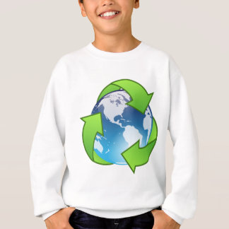 Crystal Earth Cycle of Life Sweatshirt