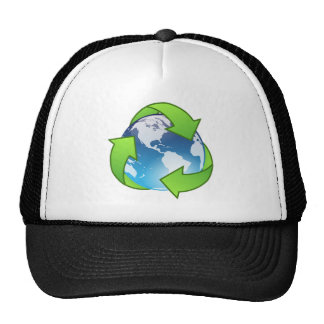 Crystal Earth Cycle of Life Trucker Hat