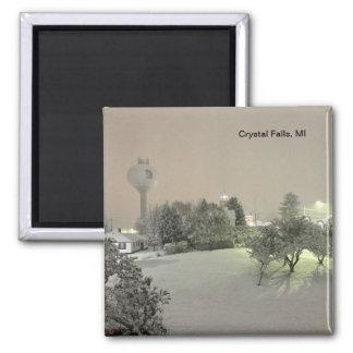 Crystal Falls, MI Magnet